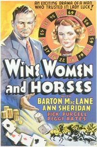 Wine, Women and Horses - 11 x 17 Movie Poster - Style A
