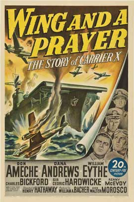 Wing and a Prayer - 27 x 40 Movie Poster - Style A