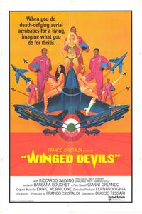 Winged Devils - 11 x 17 Movie Poster - Style A