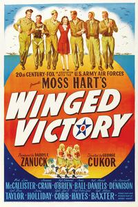 Winged Victory - 43 x 62 Movie Poster - Bus Shelter Style A