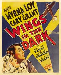 Wings in the Dark - 27 x 40 Movie Poster - Style A
