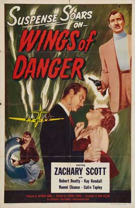 Wings of Danger - 27 x 40 Movie Poster - Style A