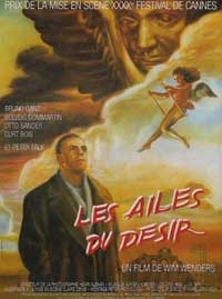 Wings of Desire - 11 x 17 Movie Poster - French Style A