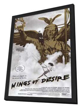 Wings of Desire - 11 x 17 Movie Poster - Style A - in Deluxe Wood Frame