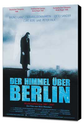 Wings of Desire - 11 x 17 Movie Poster - German Style A - Museum Wrapped Canvas