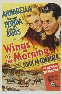 Wings of the Morning - 27 x 40 Movie Poster - Style A