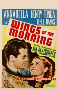 Wings of the Morning - 27 x 40 Movie Poster - Style B