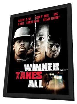 Winner Takes All (TV) - 11 x 17 Movie Poster - Style A - in Deluxe Wood Frame