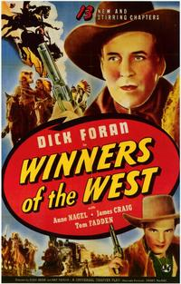 Winners of the West - 11 x 17 Movie Poster - Style A