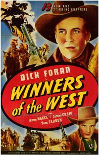 Winners of the West - 27 x 40 Movie Poster - Style A