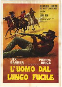 Winnetou and Shatterhand in the Valley of Death - 11 x 17 Movie Poster - Italian Style A