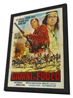 Winnetou: Last of the Renegades - 27 x 40 Movie Poster - Italian Style A - in Deluxe Wood Frame