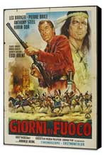Winnetou: Last of the Renegades - 27 x 40 Movie Poster - Italian Style A - Museum Wrapped Canvas