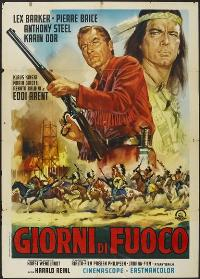 Winnetou: Last of the Renegades - 27 x 40 Movie Poster - Italian Style A