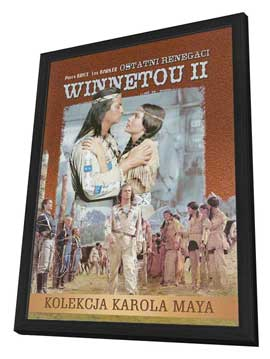 Winnetou: Last of the Renegades - 27 x 40 Movie Poster - Polish Style A - in Deluxe Wood Frame