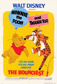 Winnie the Pooh and Tigger Too - 27 x 40 Movie Poster - Style A