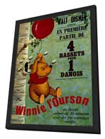 - 27 x 40 Movie Poster - French Style A - in Deluxe Wood Frame