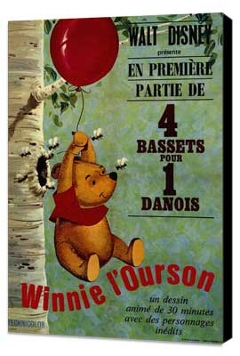 - 27 x 40 Movie Poster - French Style A - Museum Wrapped Canvas