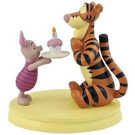 Winnie the Pooh - Cupcake Tigger and Piglet Mini Statue