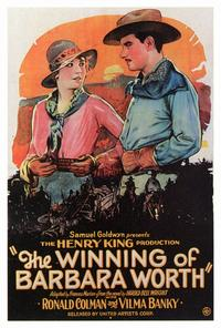 Winning of Barbara Worth - 27 x 40 Movie Poster - Style A