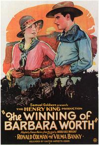 Winning of Barbara Worth - 43 x 62 Movie Poster - Bus Shelter Style A