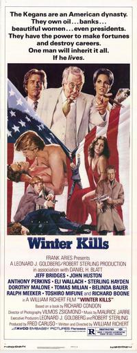 Winter Kills - 14 x 36 Movie Poster - Insert Style A