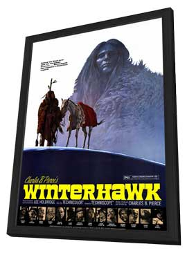 Winterhawk - 11 x 17 Movie Poster - Style A - in Deluxe Wood Frame