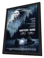 Winter's Bone - 11 x 17 Movie Poster - Style B - in Deluxe Wood Frame