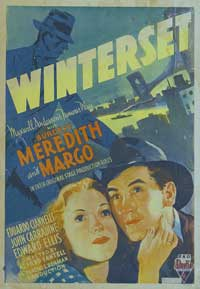 Winterset - 27 x 40 Movie Poster - Style A