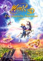 Winx Club 3D: Magic Adventure - 11 x 17 Movie Poster - German Style A