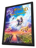 Winx Club 3D: Magic Adventure - 11 x 17 Movie Poster - Style A - in Deluxe Wood Frame