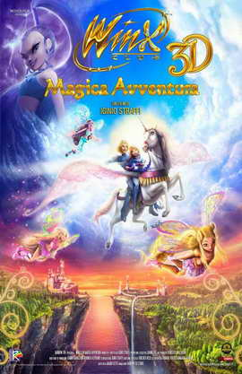 Winx Club 3D: Magic Adventure - 11 x 17 Movie Poster - Style A