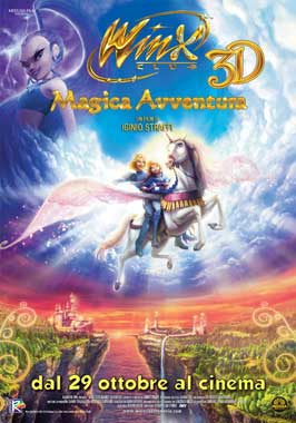 Winx Club 3D: Magic Adventure - 27 x 40 Movie Poster - Italian Style A