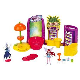 Winx Club - 2012 Wave 1 Action Doll Playset with Doll