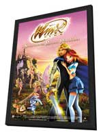 Winx Club: The Secret of the Lost Kingdom - 11 x 17 Movie Poster - Italian Style A - in Deluxe Wood Frame