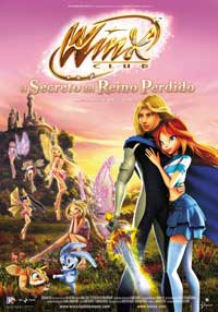 Winx Club: The Secret of the Lost Kingdom - 11 x 17 Movie Poster - Italian Style A