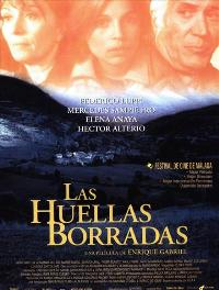 Wiped-Out Footprints - 11 x 17 Movie Poster - Spanish Style A