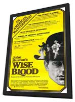 Wise Blood - 11 x 17 Movie Poster - Style A - in Deluxe Wood Frame