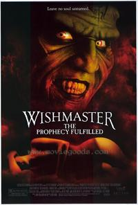 Wishmaster 4: The Prophecy Fulfilled - 27 x 40 Movie Poster - Style A