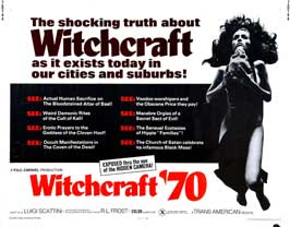 Witchcraft '70 - 22 x 28 Movie Poster - Half Sheet Style B