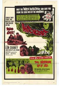 Witchcraft/The Horror of it All - 11 x 17 Movie Poster - Style A