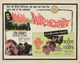 Witchcraft/The Horror of it All - 22 x 28 Movie Poster - Half Sheet Style A