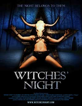 Witches' Night - 43 x 62 Movie Poster - Bus Shelter Style A