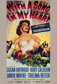 With a Song in My Heart - 27 x 40 Movie Poster - Style A