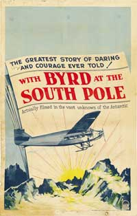 With Byrd at the South Pole - 27 x 40 Movie Poster - Style B
