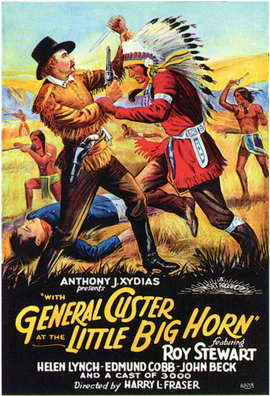 With General Custer at Little Big Horn - 11 x 17 Movie Poster - Style A