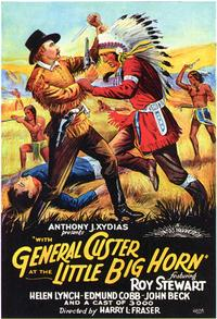 With General Custer at Little Big Horn - 27 x 40 Movie Poster - Style A