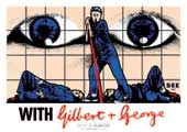 With Gilbert & George - 11 x 17 Movie Poster - German Style A