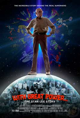 With Great Power: The Stan Lee Story - 11 x 17 Movie Poster - Style A
