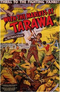 With the Marines at Tarawa - 43 x 62 Movie Poster - Bus Shelter Style A
